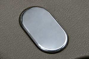 Steeda Mustang Coin Holder Delete - Polished (99-04 All)