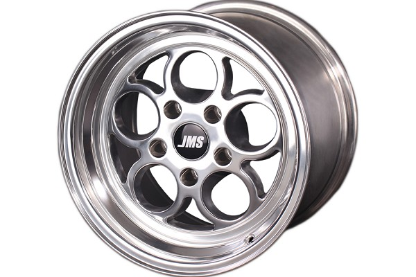 JMS Mustang Savage Series Rear Wheel - Polished - 15x10 (05-14 GT/V6)