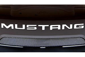 Steeda Mustang Rear Bumper Insert Decal - White (99-04)