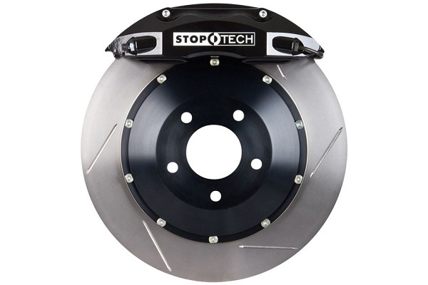 StopTech Focus ST 2 Piece Rotor Front Big Brake Kit - Black (13-18 ST)
