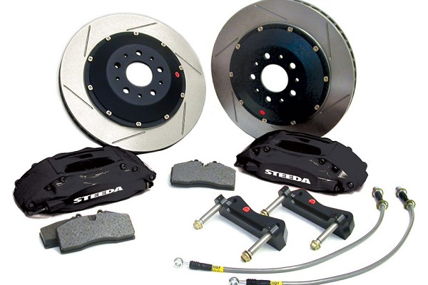"Steeda 14"" Mustang Front Brake Upgrade Kit (05-14)"