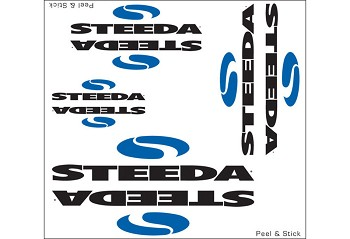 Steeda Logo Sticker Sheet