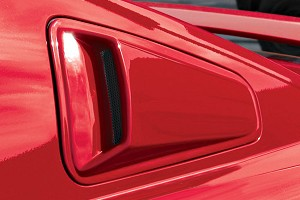 Razzi Mustang Window Scoops (05-09)