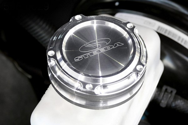 Steeda Billet Mustang Brake Cap Cover - Steeda Logo (05-14)