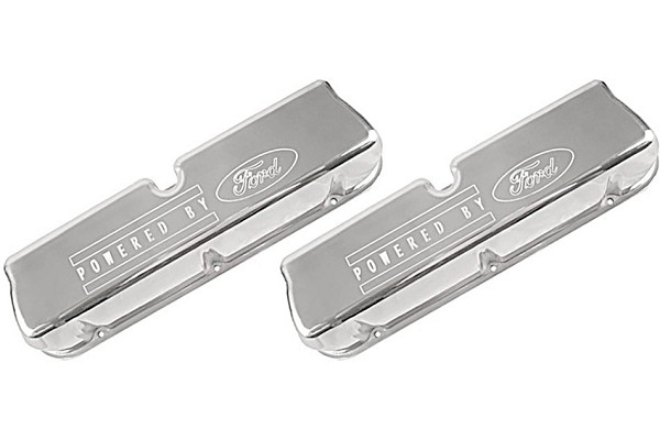 Steeda Mustang Tall Valve Covers - Powered by Ford (86-95 5.0 & 5.8) DISCONTINUED