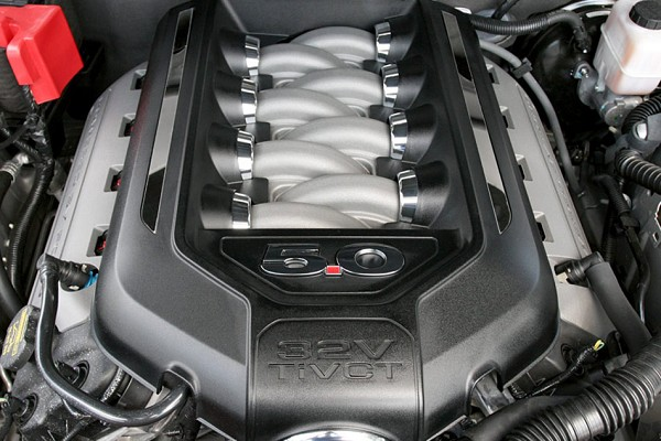 Steeda Mustang GT/BOSS 302 Engine Cover Inserts (2011-2014)