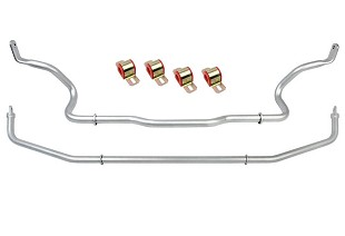 Sway Bars; Suspension; Looking to upgrade your Focus RS's suspension? You've come to the right place! Steeda is world-renowned for our suspension and steering components. We offer a wide-range of upgrades, from lowering springs, caster camber plates, sway bars, end links, shock