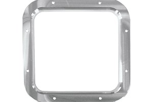 Steeda Fox Body Mustang Shifter Bezel - Machined/No Logo (87-93)