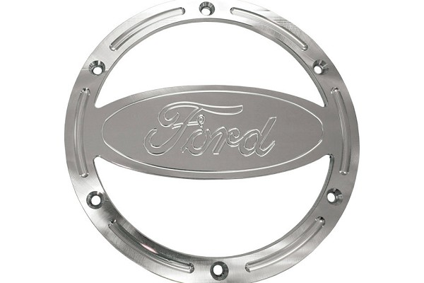 Steeda Mustang Speaker Covers - Matte/Ford Logo (05-09) DISCONTINUED