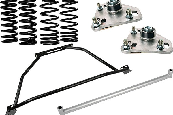 Steeda Mustang Coupe G/Trac Suspension Package - Stage 1 (1986-1989)