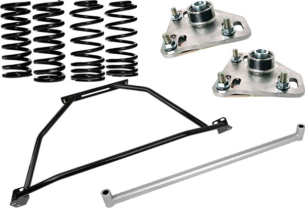 Steeda G/Trac Mustang Suspension Package - Stage 1 (98 GT)