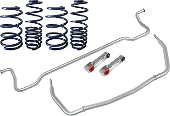 Steeda S197 Mustang Lowering Spring & Sway Bar Package (11-14)