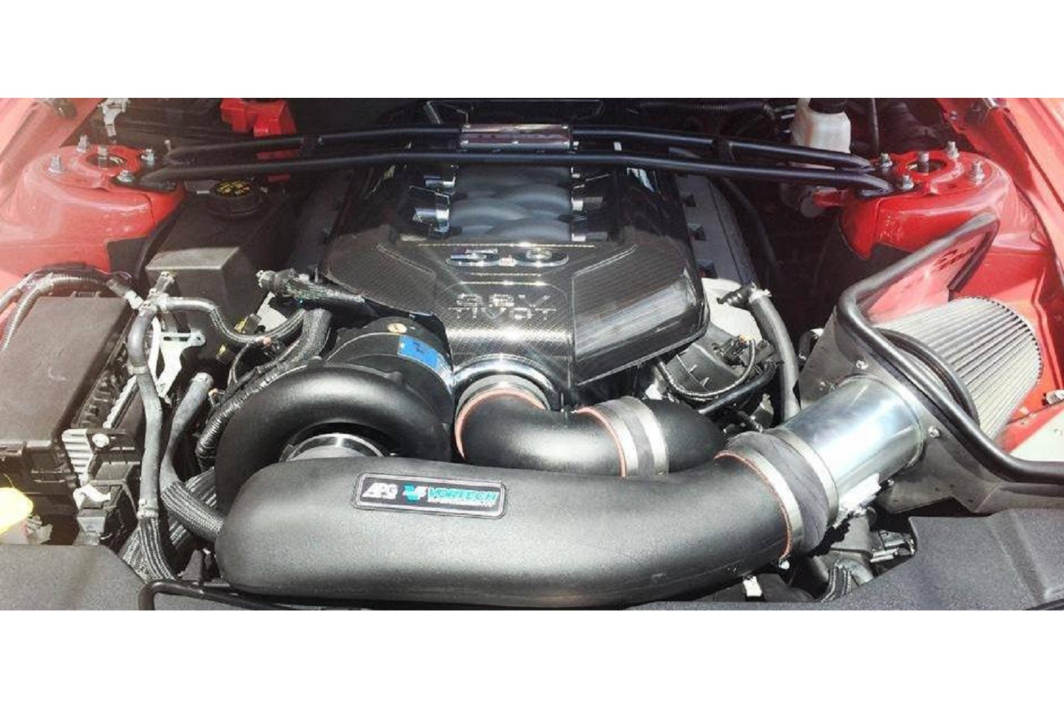Steeda 2011-14 CAI for Vortech Superchargers (11-14 GT)