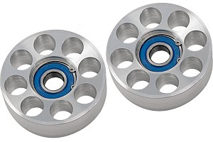 Steeda Mustang Two Piece Billet Aluminum Idler Pulley Kit (05-10)