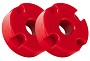 Steeda S550 Mustang Adjustable Differential Bushing Insert System - Urethane (15-17 GT)