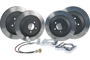 Steeda Shelby GT500 Mustang Brake Upgrade Kit (07-12)