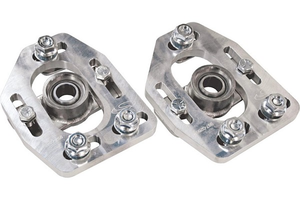 Steeda Billet Mustang Caster Camber Plates (90-93) - DISCONTINUED
