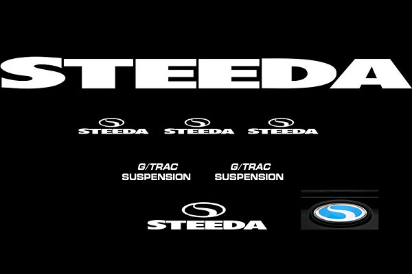 Steeda G/Trac Graphics Package - White