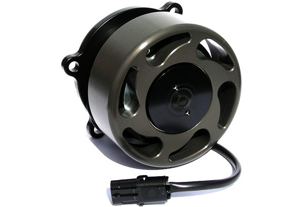 Meziere Mustang Electric Water Pump - Black (96-10 GT)