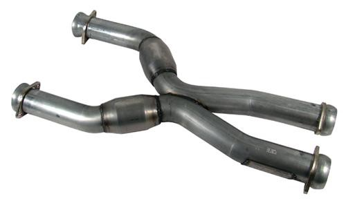 BBK Coyote 5.0L Swap Catted X-Pipe for use w/ Long Tube Headers (79-04)