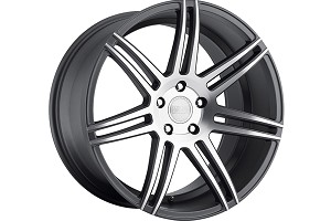 Concept One Wheels CSM-7 Matte Gunmetal Machined Wheel - 20x9 (94-04)