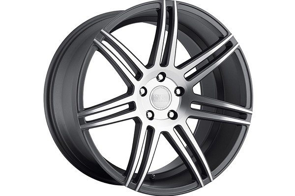 Concept One Wheels CSM-7 Matte Gunmetal Machined Wheel - 20x9 (1994-2004)