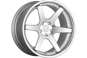 Concept One Wheels CS-6 Silver Machined Wheel - 20x9 (05-15)