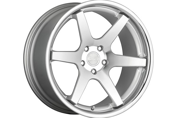 Concept One Wheels CS-6 Silver Machined Wheel - 20x9 (05-20)