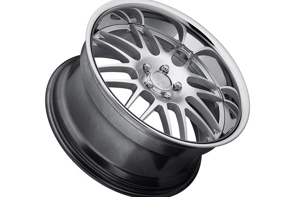 Concept One Wheels RS-8 Hyper Silver Executive Edition Wheel - 19x8.5 (94-04) DISCONTINUED