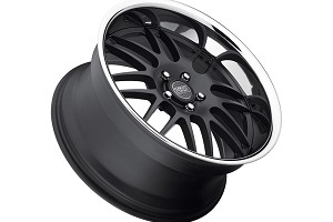 Concept One Wheels RS-8 Matte Black Executive Edition Wheel - 19x10.5 (05-10)