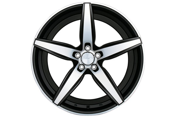 Ace Alloy Couture Matte Black Machined Wheel 19x10 (05-19)