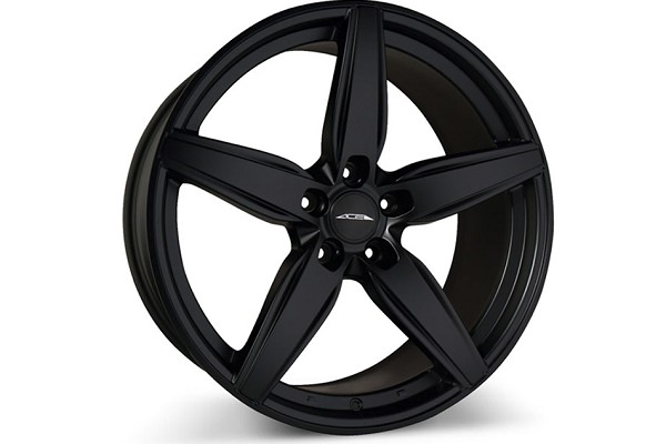 Ace Alloy Couture Matte Black Wheel 19x10 (2005-2021)