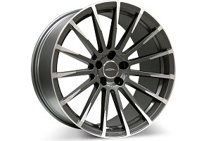 Ace Alloy Devotion Mica Grey Machined Wheel 20x10 (05-15)