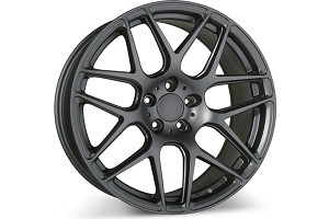 Ace Alloy Mesh-7 Matte Mica Grey Wheel 19x8.5 (05-15)