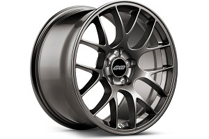 APEX EC-7 19x10 ET40 Mustang Anthracite Wheel (05-17)