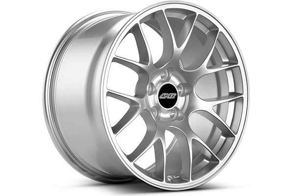 APEX EC-7 18x9 ET30 Mustang Race Silver Wheel (05-14) DISCONTINUED