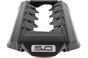 APR Performance S550 Mustang Carbon Fiber 5.0L Engine Cover (15-17 GT)