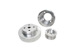 BBK 5.0 Fox Body Mustang Underdrive Pulley Kits - Polished (86-93)