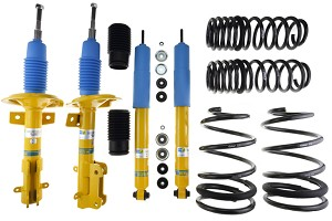 Bilstein Mustang B12 Shock & Strut Series Pro-Kit Lowering Spring Kit (07-11 GT500)
