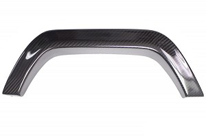 California Pony Cars Focus Carbon Fiber Exhaust Trim Cover (13-14 ST)