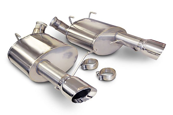 "Corsa Mustang 3"" Sport Axle-Back Exhaust Dual Rear Exit 4"" Polished Pro-Series Tips (11-14 GT/Boss)"