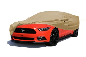 Covercraft Shelby GT350 Deluxe 380 Convertible Exterior Taupe Car Cover (16-18 GT350)