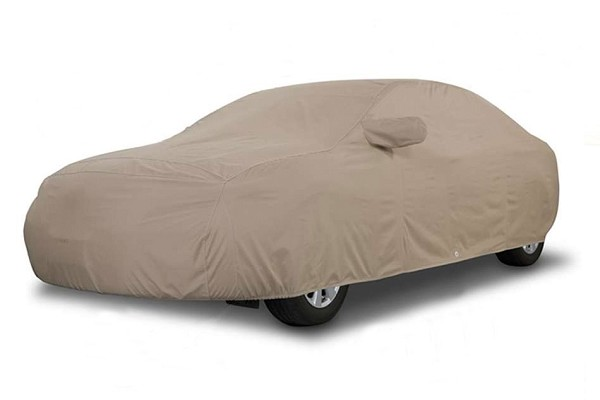 Covercraft Mustang Block-It 380 Exterior Taupe Car Cover (87-93 LX Hatchback)