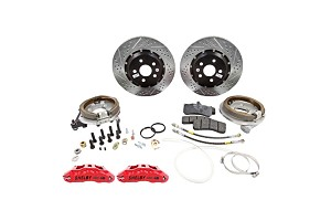 Baer Extreme Plus Rear Brake Kit - 6 piston red