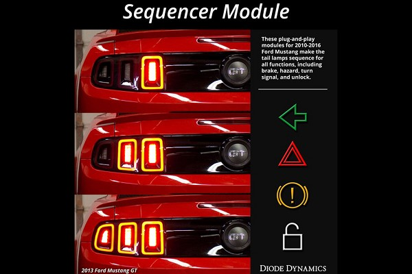 Diode Dynamics Mustang Taillight Sequencer Module (10-18 All)