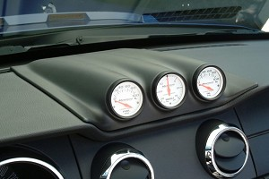 Classic Design Concepts Mustang Triple Gauge Dash Pod (05-09 All)