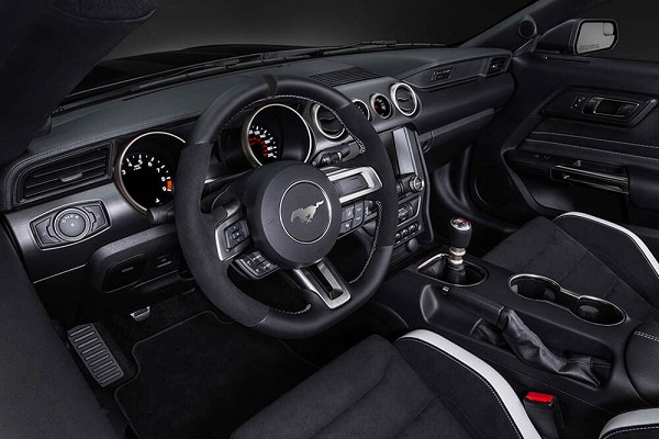 Ford Mustang S550 Steering Wheel GT350 Leather and Alcantara (2015-2017)