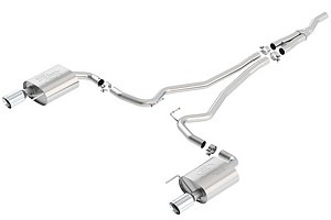 Ford Performance Euro Spec Mustang Cat-Back Exhaust Chrome Tips (2016 EcoBoost)