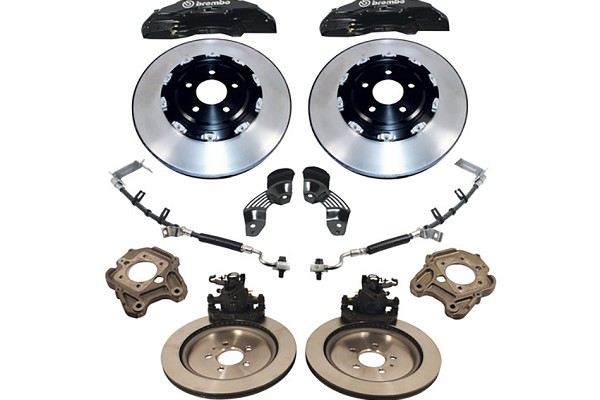 "Ford Performance Mustang 6 Piston 15"" Brake Upgrade Kit w/ 2 Piece Rotors (05-14) - DISCONTINUED"