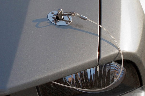 Ford Performance Mustang Stainless Steel Hood Pins (1979-2004)
